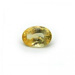 2.67 Carat/ 2.96 Ratti Natural Ceylon Yellow Sapphire Gemstone