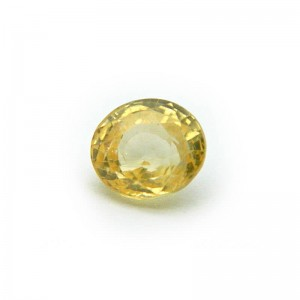2.93 Carat/ 3.25 Ratti Natural Ceylon Yellow Sapphire Gemstone