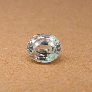 2.79 Carat/ 3.1 Ratti Natural Ceylon White Zircon Gemstone