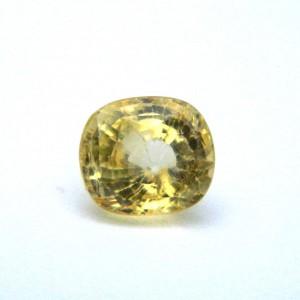 3.05 Carat/ 3.38 Ratti Natural Ceylon Yellow Sapphire Gemstone
