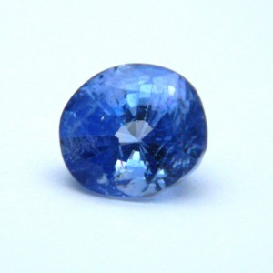 3.45 Carat/ 3.82 Ratti Natural Ceylon Blue Sapphire (Neelam) Gemstone