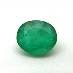 3.50 Carat/ 3.88 Ratti Natural Zambian Emerald (Panna) Gemstone