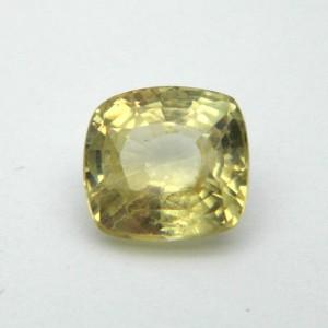 3.70 Carat/ 4.10 Ratti Natural Ceylon Yellow Sapphire Gemstone