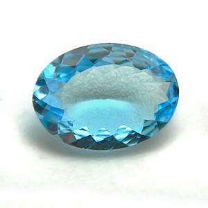 3.72 Carat/ 4.13 Ratti Natural Blue Topaz Gemstone
