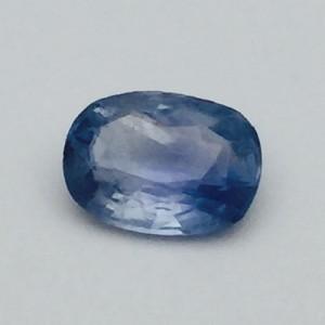 3.49 Carat  Natural Transparent Ceylon Blue Sapphire (Neelam) Gemstone