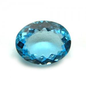 4.47 Carat/ 4.96 Ratti Natural Blue Topaz Gemstone