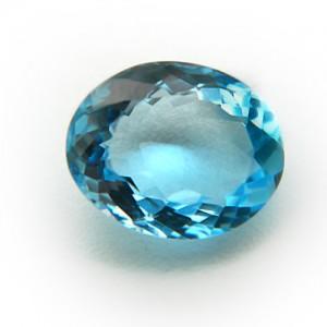 4.58 Carat/ 5.08 Ratti Natural Blue Topaz Gemstone