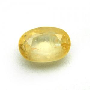 4.58 Carat/ 5.08 Ratti Natural Ceylon Yellow Sapphire (Pukhraj) Gemstone