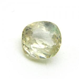 4.58 Carat/ 5.08 Ratti Natural Ceylon White Sapphire Gemstone