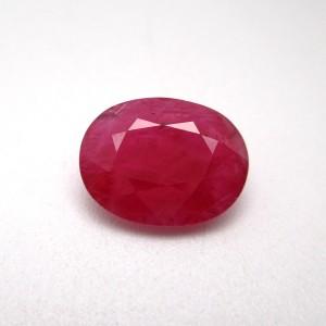 4.63 Carat/ 5.13 Ratti Natural African Ruby (Manik) Gemstone