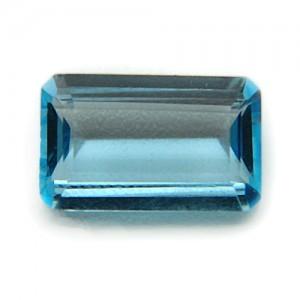 4.64 Carat/ 5.15 Ratti Natural Blue Topaz Gemstone