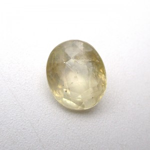 4.71 Carat/ 5.22 Ratti Natural Ceylon Yellow Sapphire (Pukhraj) Gemstone