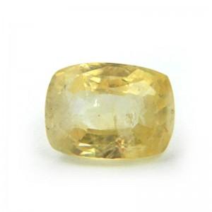 4.78 Carat/ 5.30 Ratti Natural Ceylon Yellow Sapphire Gemstone