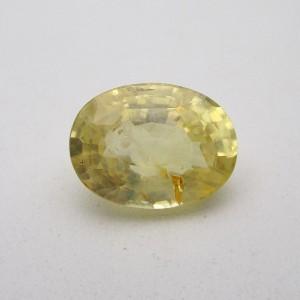 4.98 Carat/ 5.52 Ratti Natural Ceylon Yellow Sapphire (Pukhraj) Gemstone