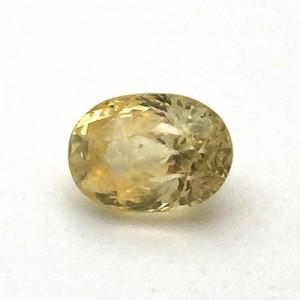 4.56 Carat Natural Ceylon Yellow Sapphire (Pukhraj) Gemstone