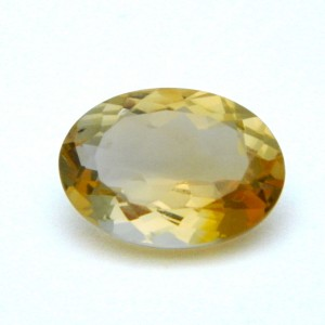 5.26 Carat/ 5.83 Ratti Natural Citrine (Sunela) Gemstone