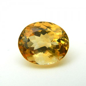 5.35 Carat/ 5.94 Ratti Natural Citrine (Sunela) Gemstone