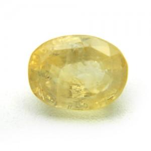5.36 Carat/ 5.94 Ratti Natural Ceylon Yellow Sapphire (Pukhraj) Gemstone