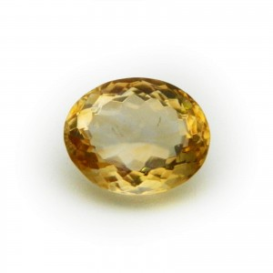 5.53 Carat/ 6.13 Ratti Natural Citrine (Sunela) Gemstone