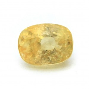 5.88 Carat/ 6.52 Ratti Natural Ceylon Yellow Sapphire Gemstone