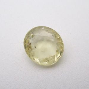 5.99 Carat/ 6.64 Ratti Natural Ceylon Yellow Sapphire (Pukhraj) Gemstone