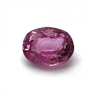 3.77 Carat Natural Pink Sapphire Gemstone From Sri Lanka