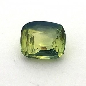 2.08 Carat/ 2.31 Ratti Natural Ceylon Parti Colored Sapphire (Pitambari) Gemstone