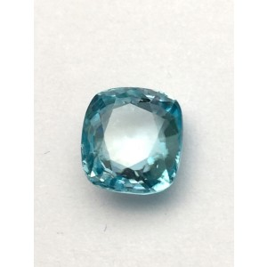 5.43 Carat  Natural Blue Zircon Gemstone