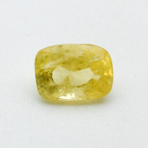 5.96 Carat Natural Ceylon Yellow Sapphire (Pukhraj) Gemstone