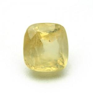 6.08 Carat/ 6.74 Ratti Natural Ceylon Yellow Sapphire (Pukhraj) Gemstone