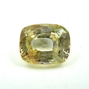 6.24 Carat/ 6.93 Ratti Natural Ceylon Yellow Sapphire (Pukhraj) Gemstone