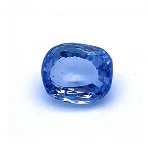 6.39 Carat/ 7.10 Ratti Natural Ceylon Blue Sapphire (Neelam) Gemstone
