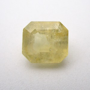 6.46 Carat/ 7.17 Ratti Natural Ceylon Yellow Sapphire (Pukhraj) Gemstone