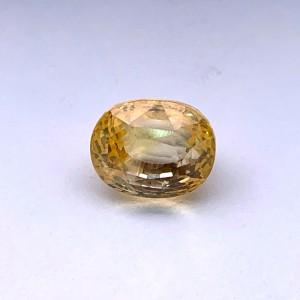 6.55 Carat/ 7.27 Ratti Natural Ceylon Yellow Sapphire Gemstone