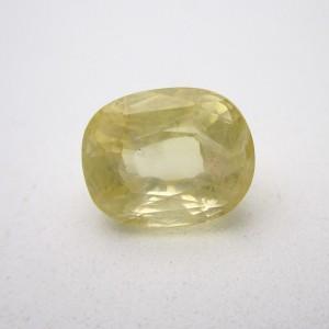 6.72 Carat/ 7.45 Ratti Natural Ceylon Yellow Sapphire (Pukhraj) Gemstone