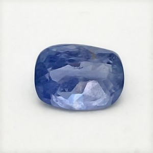 3.34 Carat Natural Blue Sapphire (Neelam) Gemstone