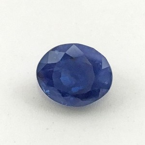 7.21 Carat  Natural Transparent Blue Sapphire (Neelam) Gemstone