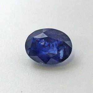 5.01 Carat Natural Transparent Blue Sapphire (Neelam) Gemstone