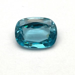 6.00 Carat  Natural Blue Zircon Gemstone