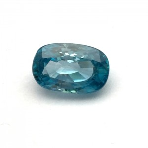 6.20 Carat  Natural Blue Zircon Gemstone