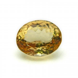 7.04 Carat/ 7.81 Ratti Natural Citrine (Sunela) Gemstone