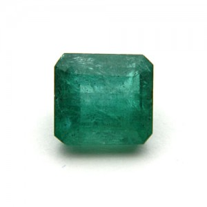 7.04 Carat/ 7.81 Ratti Natural Zambian Emerald (Panna) Gemstone