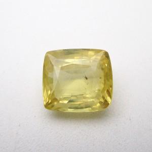 7.29 Carat/ 8.10 Ratti Natural Ceylon Yellow Sapphire (Pukhraj) Gemstone