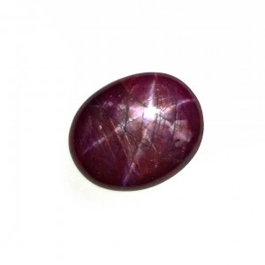7.41 Carat/ 8.23 Ratti Natural African Star Ruby (Manik) Gemstone