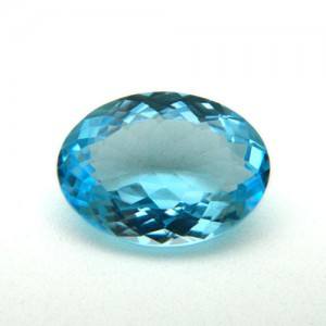 7.50 Carat/ 8.33 Ratti Natural Blue Topaz Gemstone