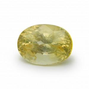 7.70 Carat/ 8.55 Ratti Natural Ceylon Yellow Sapphire (Pukhraj) Gemstone