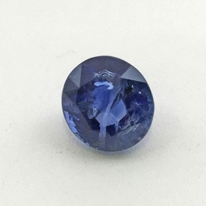 4.56 Carat Natural Transparent Blue Sapphire (Neelam) Gemstone