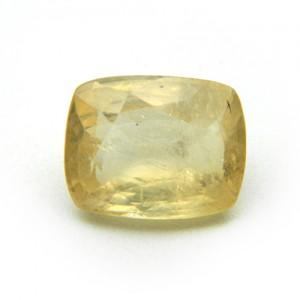 8.16 Carat/ 9.05 Ratti Natural Ceylon Yellow Sapphire (Pukhraj) Gemstone