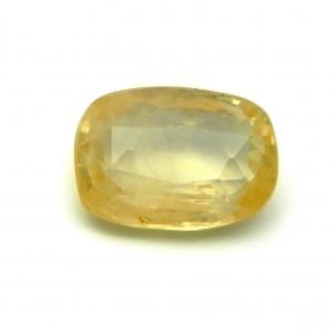 8.17 Carat/ 9.06 Ratti Natural Ceylon Yellow Sapphire (Pukhraj) Gemstone