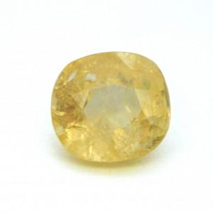 8.21 Carat/ 9.11 Ratti Natural Ceylon Yellow Sapphire Gemstone